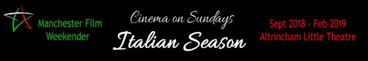 Cinema on Sundays Italian Season